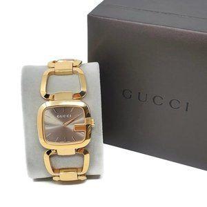 100% Auth Gucci Gold Bracelet Watch